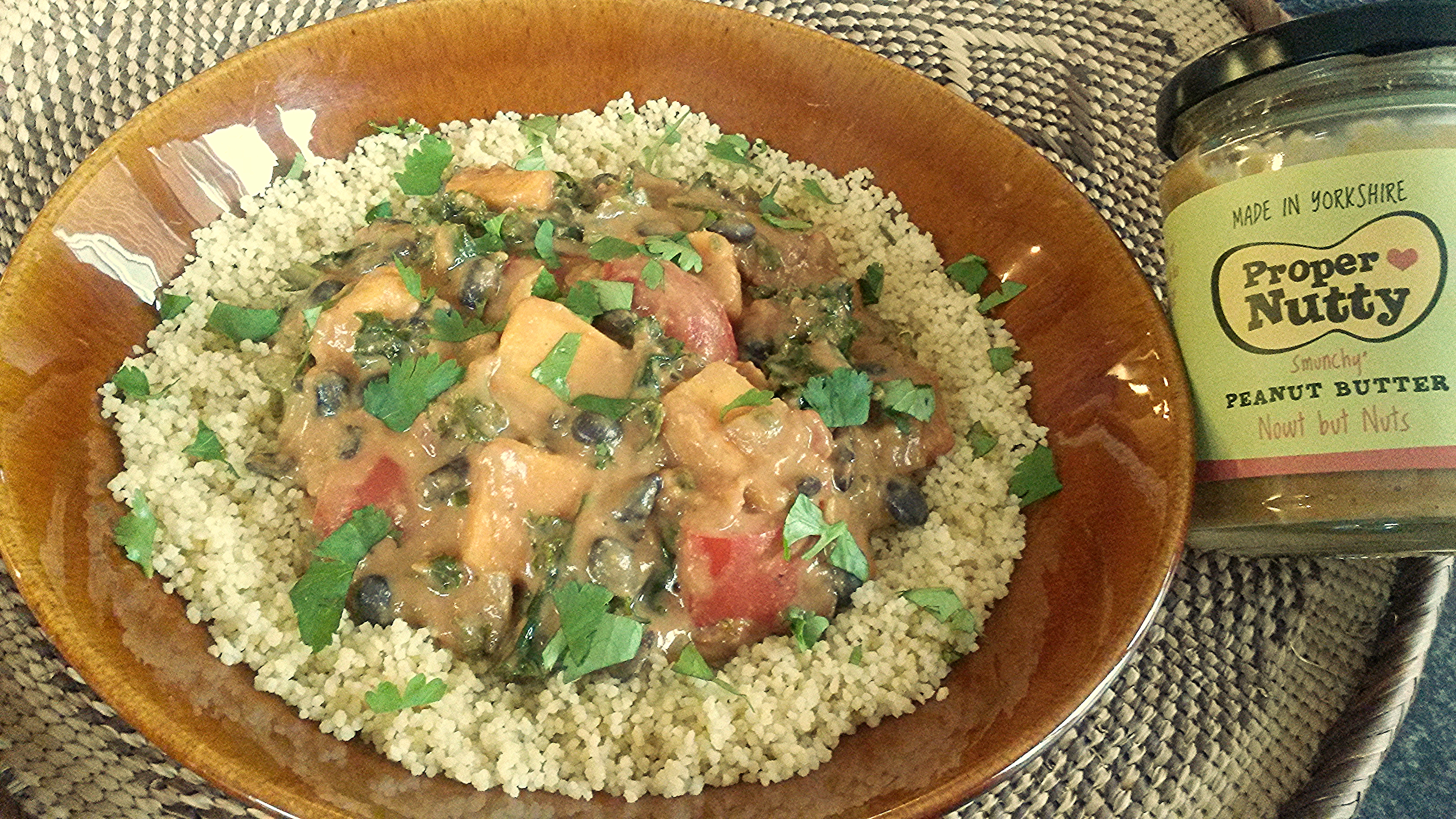 African Peanut Butter Vegetable Stew