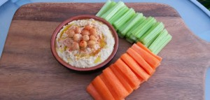 Easy Peanut Butter Hummus