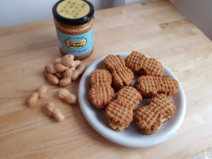 Nutty Butty Biscuits